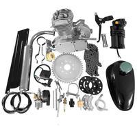 高品質 80cc 2ストローク モーター エンジンキット DIY バイク カスタム ガソリンサイクル モーターセット