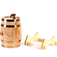 10L オーク樽 醸造装飾 ワイン樽 樽バケツ 醸造 木製