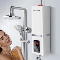 5500W 瞬間湯沸かし器 電気温水器 給湯器 電気 シャワー キッチン 浴室