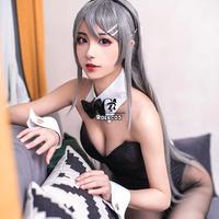 ROLECOS アニメ 青春 バニーガール コスプレ セクシー ハロウィン うさ耳