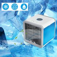 USB ミニポータブル 空気加湿器 清浄機 7色ライト デスクトップ 空気 冷却クーラー