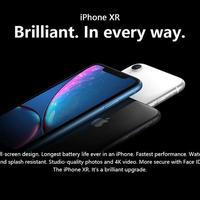 Apple iPhone XR SIMフリー 128GB iOS LTE 電話 カメラ 6.1インチ 携帯電話 スマホ メモリ 4GB