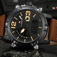 NAVIFORCE メンズ ファッション スポーツ 腕時計 男性用 クォーツ アナログ時計