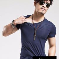 2019 MRMT ブランド服 メンズ Tシャツ フィットネス カジュアル メンズ Vネック Sから5XLまでサイズ豊富