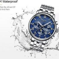 腕時計 ハイブランド メンズウォッチ 海外ブランド AESO 機械式 自動巻 ステンレス製 王道デザイン ホワイト