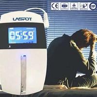 LASPOT 睡眠導入器 CES治療 刺激装置 不眠症 うつ 不安に 快適な眠りをプレゼント