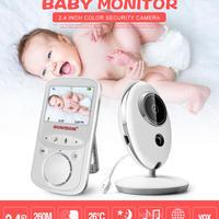 ワイヤレス 液晶 オーディオ ビデオ ベビーモニター VB605 ラジオ 乳母 音楽 インターホン ポータブル ベビーシッター