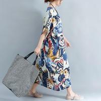 服 ファッション DIMANAF ドレス 女性 パッチワーク ビンテージ ドレス カジュアル