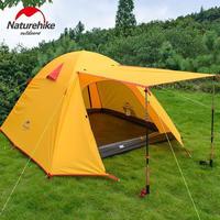 Naturehike ネイチャーハイク 3人用 アウトドア NHテント 二重層 超軽量 キャンピングテント キャンプ