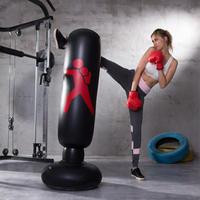垂直 ボクシングバッグ PVC パンチングバッグ フィットネス ダイエット トレーニング 格闘技