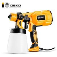 DEKO DKCX01 スプレーガン ハイパワー 家電 ペイントスプレー 簡単噴霧
