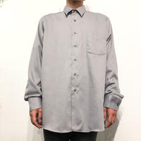Gray color plain L/S shirt