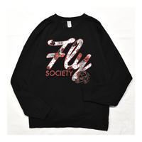 Rose Printed Sweatshirt