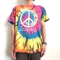 Peace symbols Tie Dye Design S/S  T-shirt