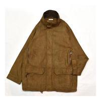 Fake Suede Long coat
