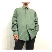 Grass Green color L/S Dress shirt
