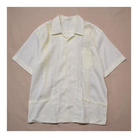 Vintage Guayabera Embroidery S/S shirt