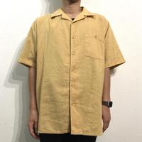Linen Open Collar Shirt