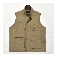 Fake  Suede outdoor vest
