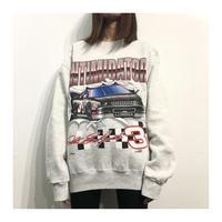90s NUTMEG Racing Sweat Shirt