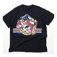 Horse printed S/S T-shirt