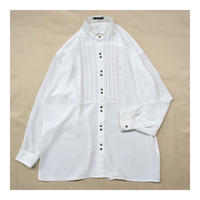 Wing collar White L/S shirt