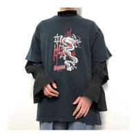 Dragon Print S/S T-shirt