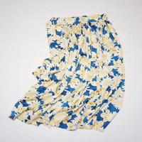 菊模様金箔散らし【ギャザーラップスカート】