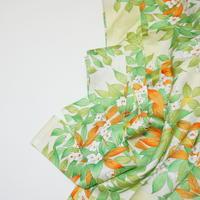 草花模様【ギャザーラップスカート】
