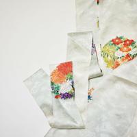 華丸紋模様【ギャザーラップスカート】
