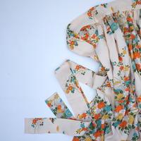 牡丹菊模様(正絹地紋あり)