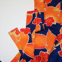 花模様【ギャザーラップスカート】