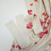 花散らしに芝草地紋【ギャザーラップスカート】