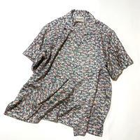 鴛鴦模様(地紋入り)【M】【ケニシャツ】