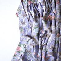 菊牡丹松模様(化繊地紋付き)