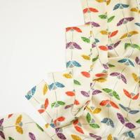 抽象花模様【タックラップスカート】