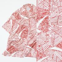 抽象模様【L】 【化繊】