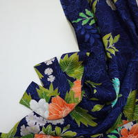 大花草模様【ギャザーラップスカート】