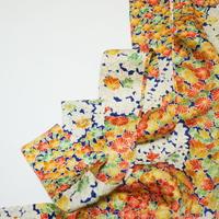 花亀甲総花地紋模様【タックラップスカート】