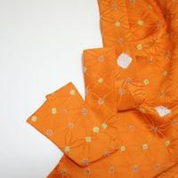 七宝地紋模様【ギャザーラップスカート】