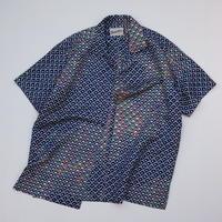 菊模様【L】【ケニシャツ】