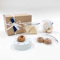 【BAKE SHOP & CAFE mitten × 眞窯】ミトンの焼き菓子と眞窯のクッキー皿(お取り寄せセット)