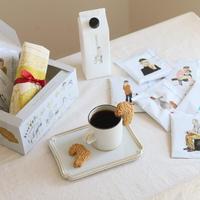 【KANNON COFFEE】カンノンコーヒー オリジナルギフトBOX(ドリップバッグ・コーヒーゼリー・しゃちほこクッキー・トートバッグ)