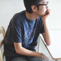 美しい傷Tシャツ (ダークヘザ)