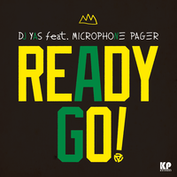 "DJ YAS ""READY GO!""  feat.MICROPHONE PAGER / 7inch Vinyl"