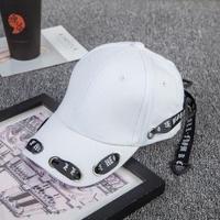 長いベルトキャップレディースファッションヒップホップ帽子