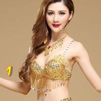 インドのダンスベリーダンス衣装ベリーダンスブラトップ