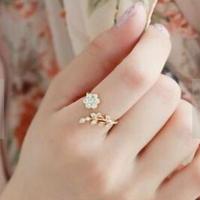フラワー ファッションリング 指輪
