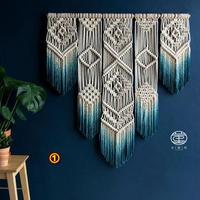 北欧の手織りのタペストリー寝室の壁画ホームステイルーム装飾パッケージ