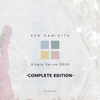 上北健 - New EP『タイトル未発表』【コンプリート盤、CD+書籍、プレオーダー優先発送&特典付き】